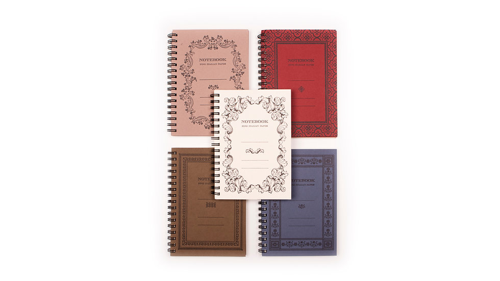 Rossi1931 organic notebooks