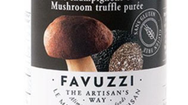 Mushroom truffle purée