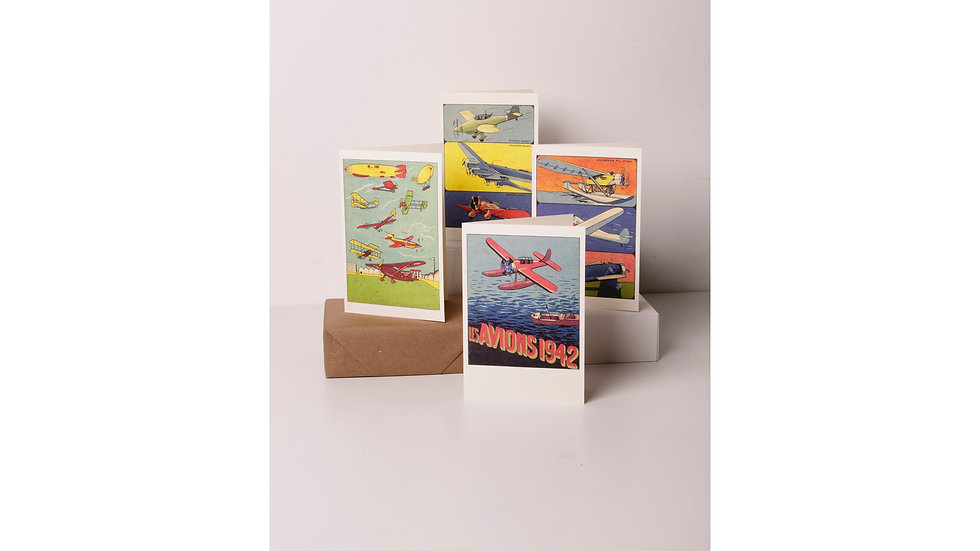 Rossi 1931 Greeting Cards - Les Avions 1942