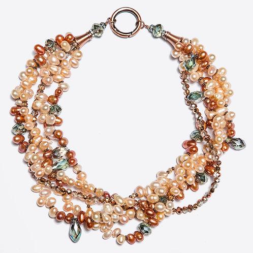 Recolta Torsade necklace 4 strands