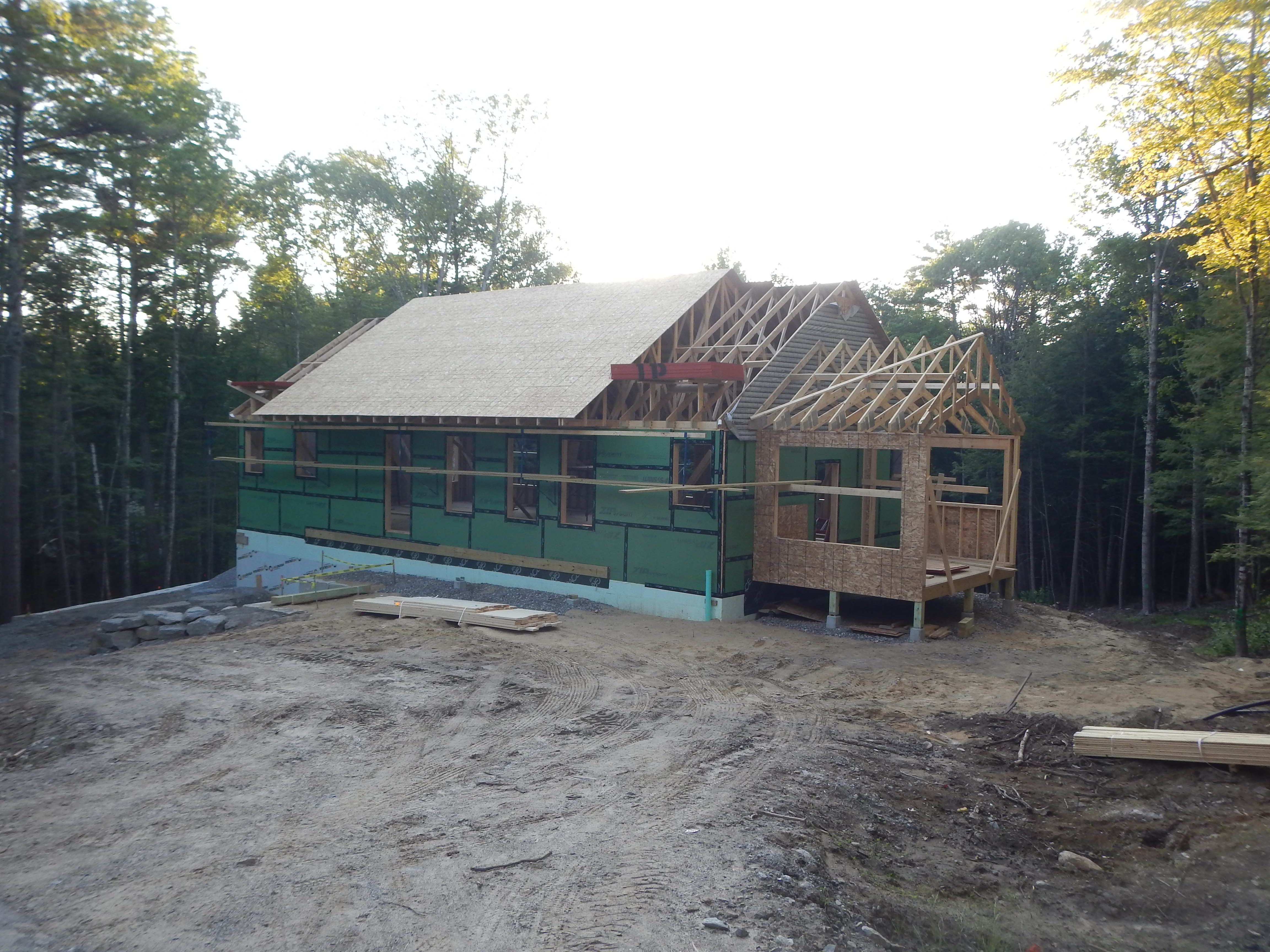 Starting The Roof