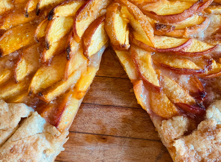 Farmer's Market Peach Galette Recipe