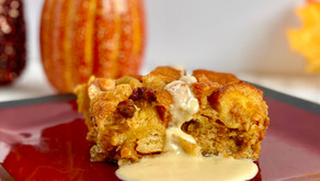 How to Make Warm, Comforting Pumpkin Bread Pudding for Fall