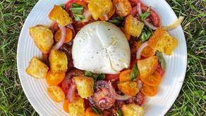 Late Summer Tomato and Bread Salad Recipe
