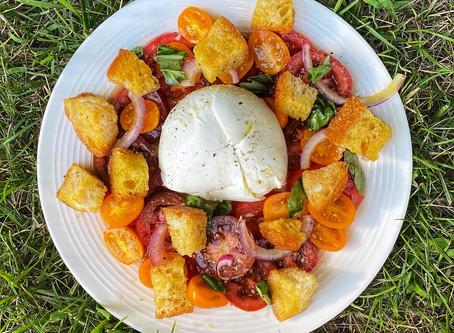 Late Summer Tomato and Bread Salad Recipe