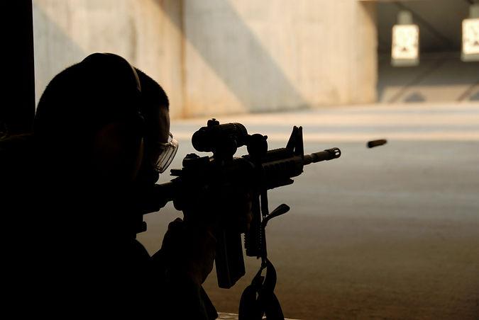 handgun Shooting Practice