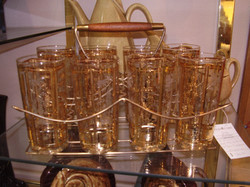 Barware Set Mid Century Modern