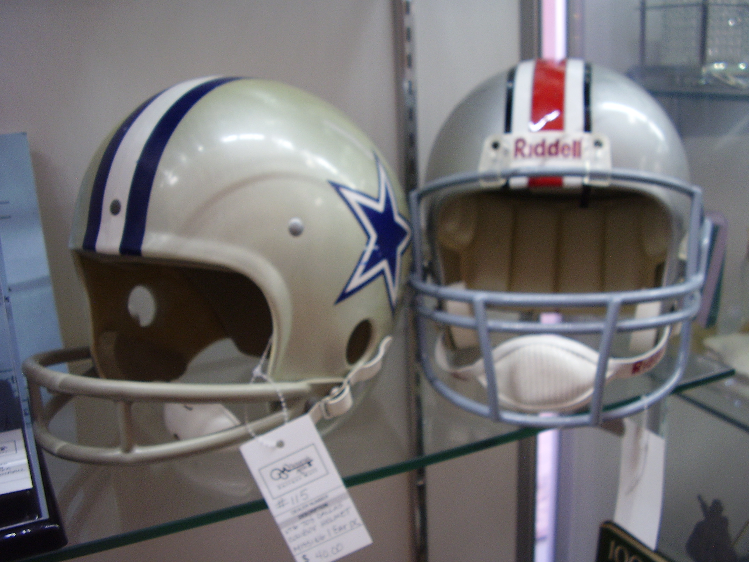 Football Helmets Sports Collectibles