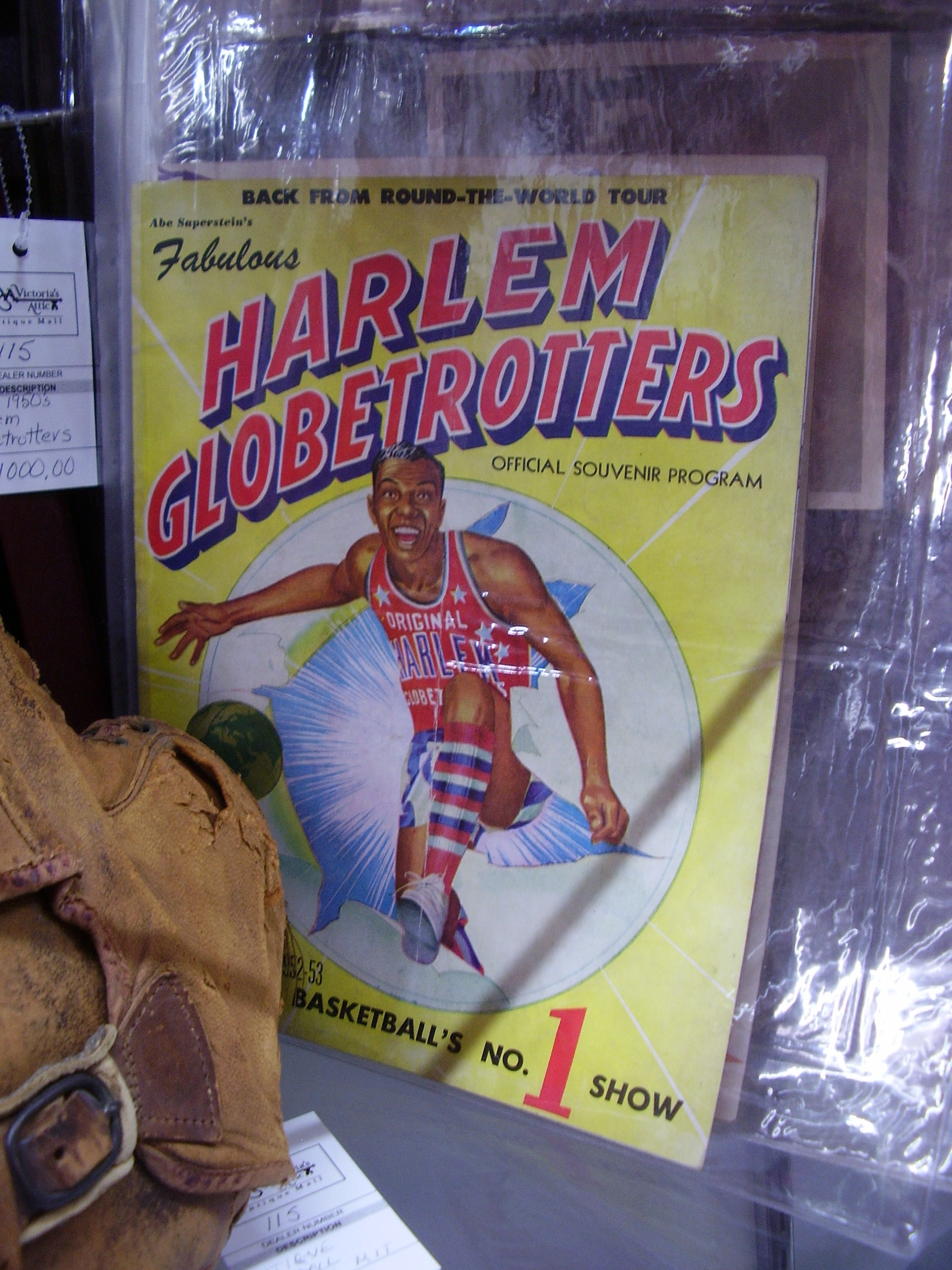 Harlem Globetrotters Souvenir Program