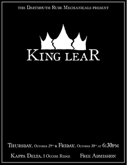 King Lear Promotional Poster