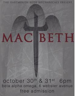 Macbeth Promotional Poster