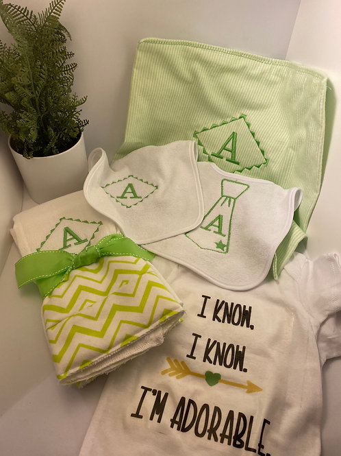 Onesie Birth cloths Bibs