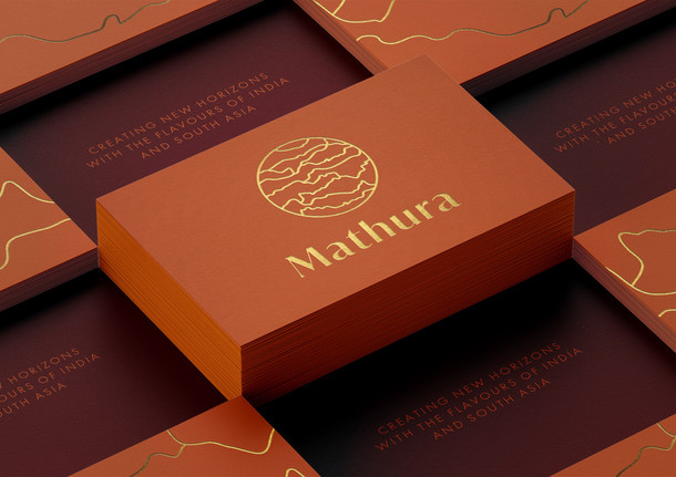Brand Identity Mathura Restaurant, London