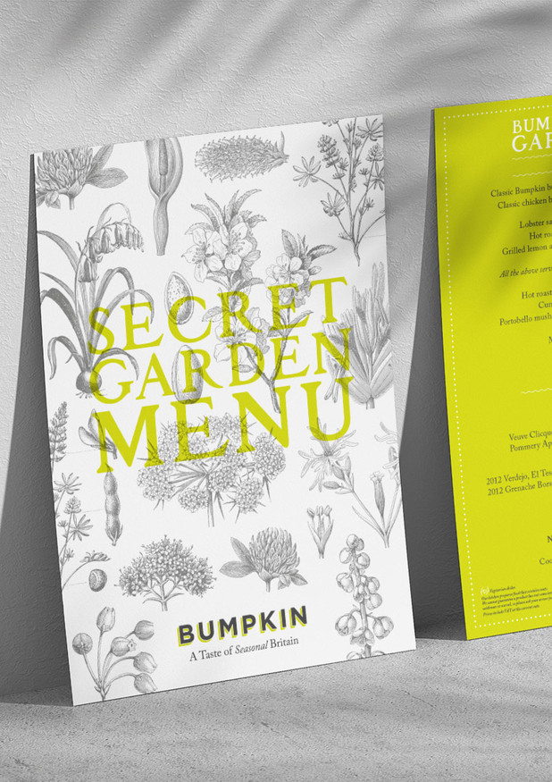 Concept and Design Bumpkin Restaurants