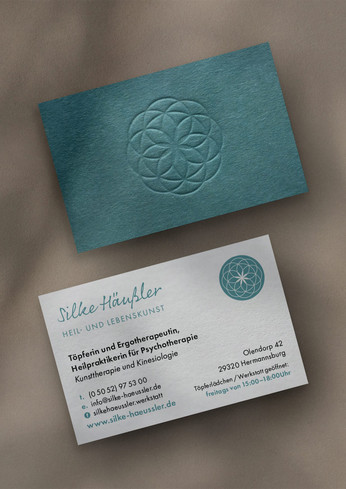 Brand Identity Natural Health Practitioner and Potterer