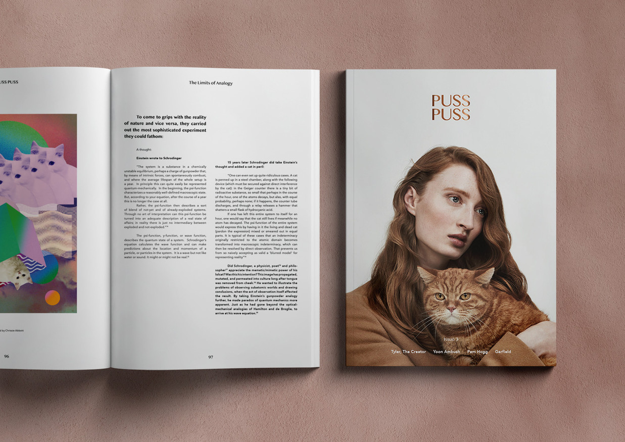 Design and Layout PUSS PUSS Magazine
