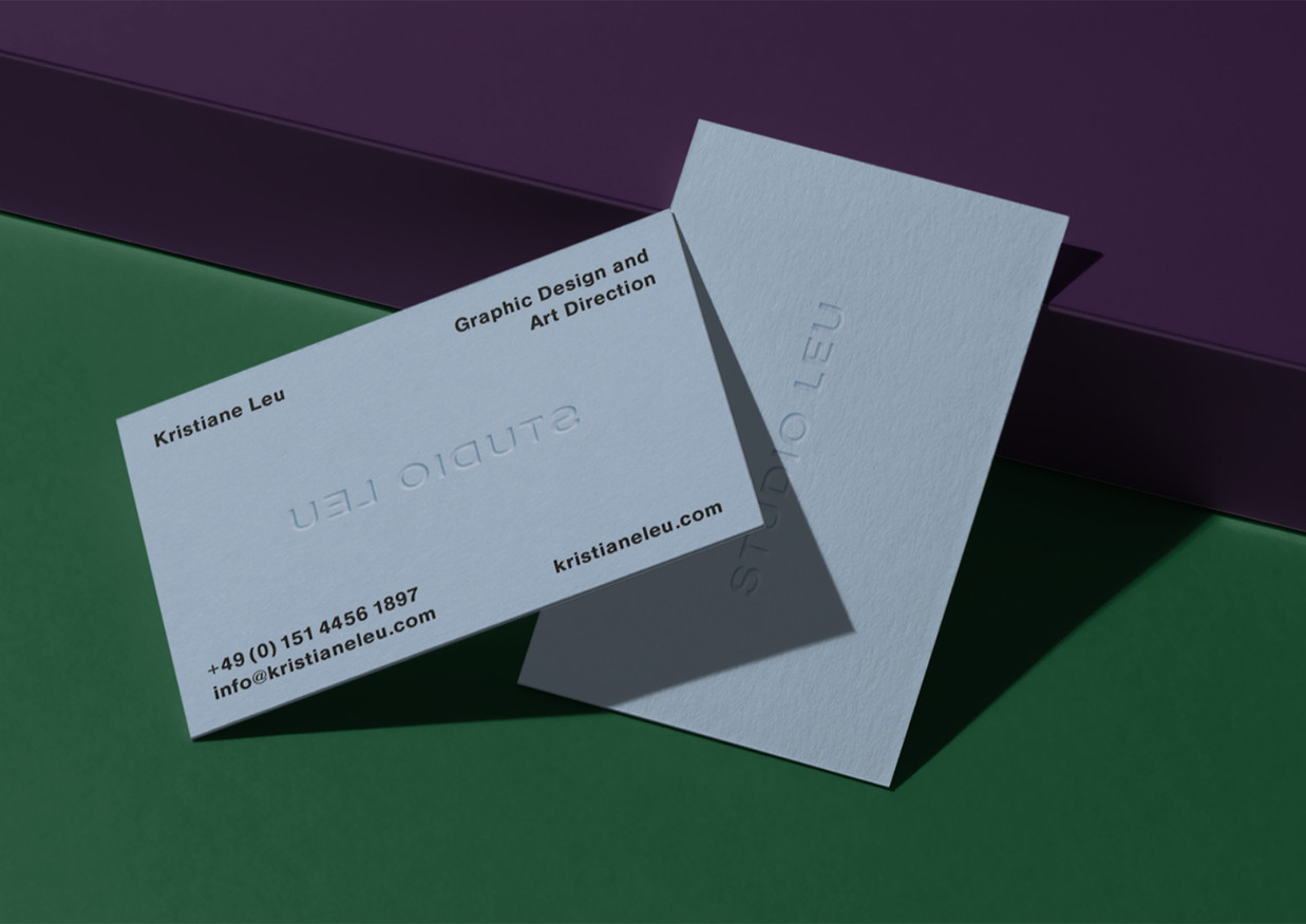 Business Cards Studio Leu