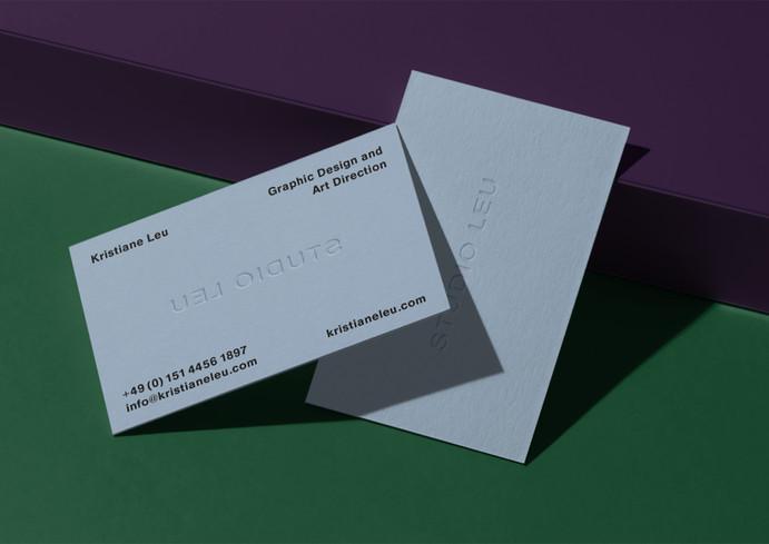 Business Cards Studio Leu