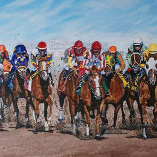 """""""150th Anniversary of the Queen's Plate – Woodbine"""" -  2009 Queen's Plate"""