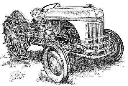 Ford_Tractor_–_Steel_Wheels_with_Cleats.