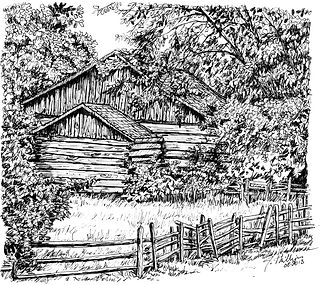 Log Barn with Split Rail Fence.jpg