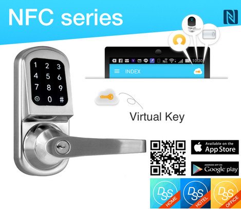 in announced lock makes ces at has keyhole touchscreen living one the companion s nfc key first it real door and doors of residential yale android yales lot enabled app us free new locks deadbolt fancy a