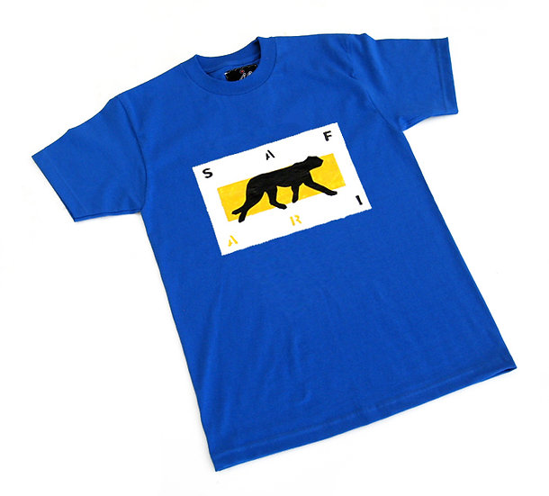 Cheetah Card tee