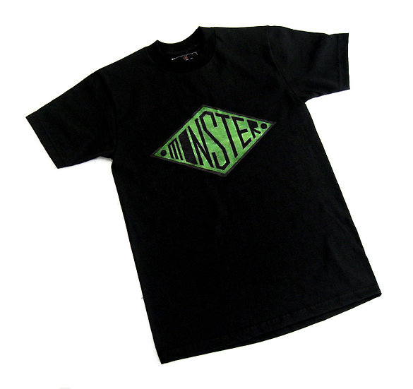 Monster tee (Green Glow)
