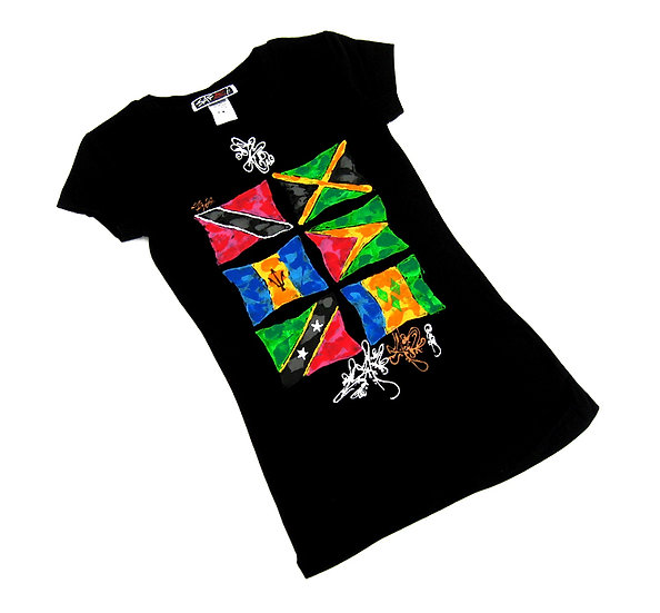 West Indies 6 tee (Ladies)