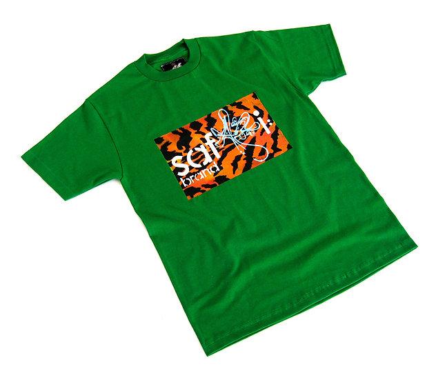 Wild Card tee (Orange Tiger)