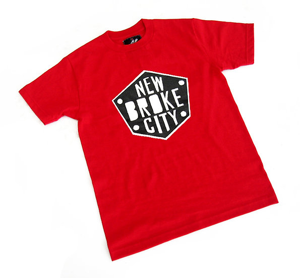 New Broke City tee