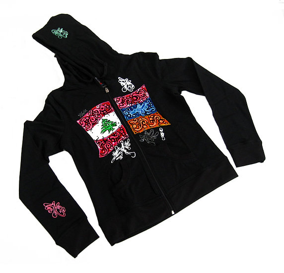 Mash Up hoodie (Ladies)