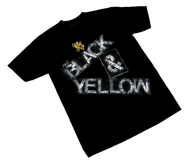 Black & Yellow tee