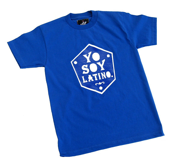 Yo Soy Latino tee (blue)