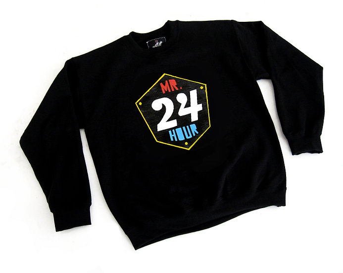 Mr. 24 Hour crewneck