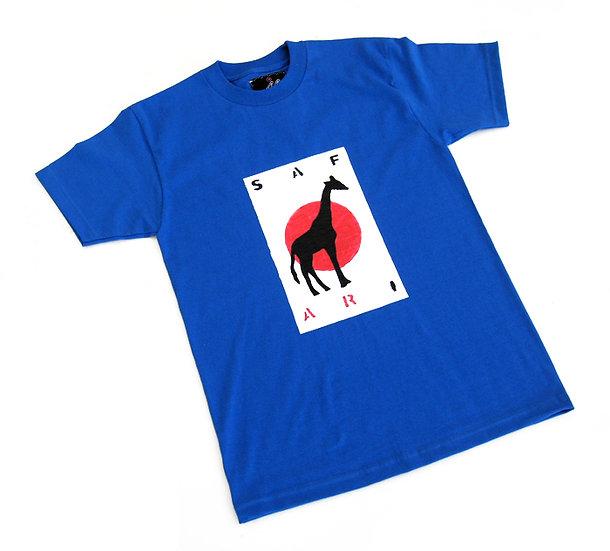 Giraffe Card tee