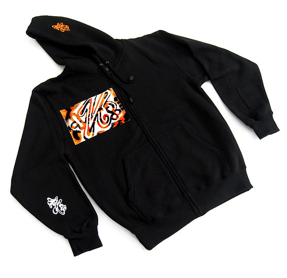 Wild Side hoodie (Orange Tiger)