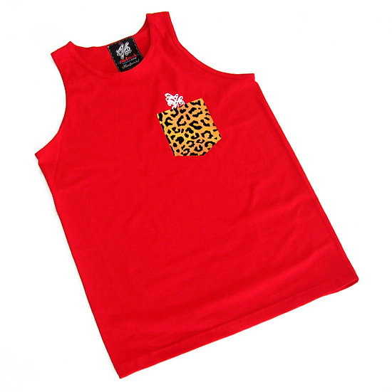 Wild Pocket tank (Gold Leopard)