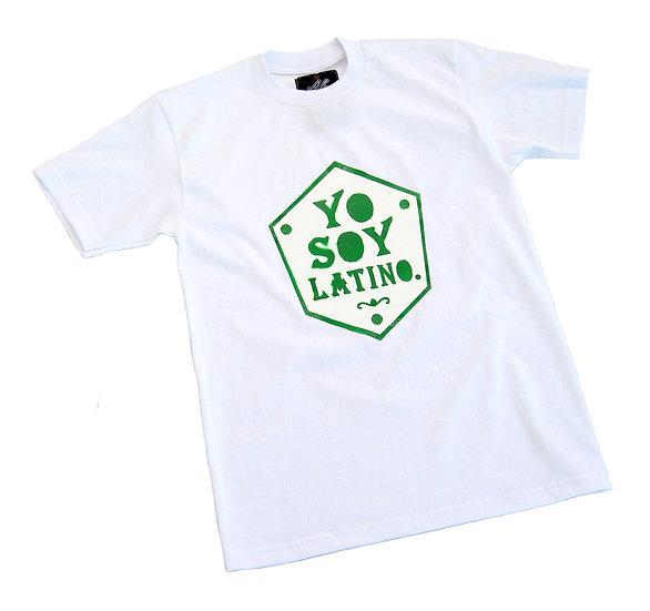 Yo Soy Latino tee (green)