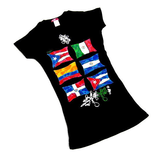 Latin 6 tee (Ladies)