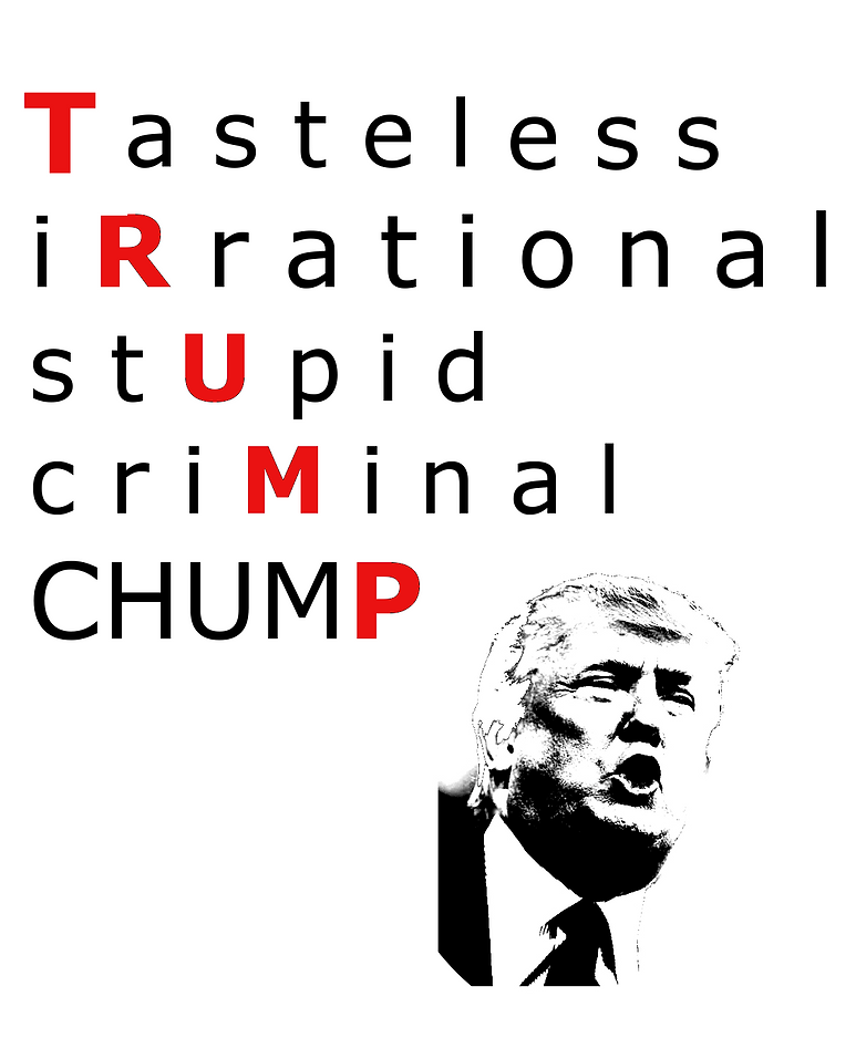 Trump Attack Tee (Green T)