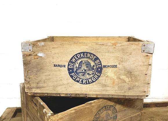 "Vintage honingbakken ""De Werkende Bie - Poperinge"""