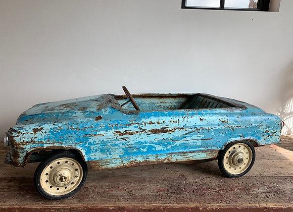 Vintage Franse trapauto (50's)