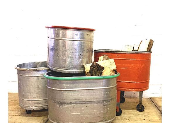 Industriële wasserijkarretjes (Jaren '60)