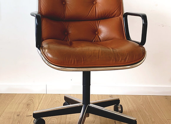 1965 Charles Pollock by Knoll 12A1 directiestoel