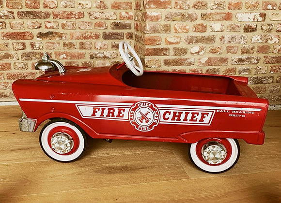 Murray 1950's Pedal Car - Fire Chief