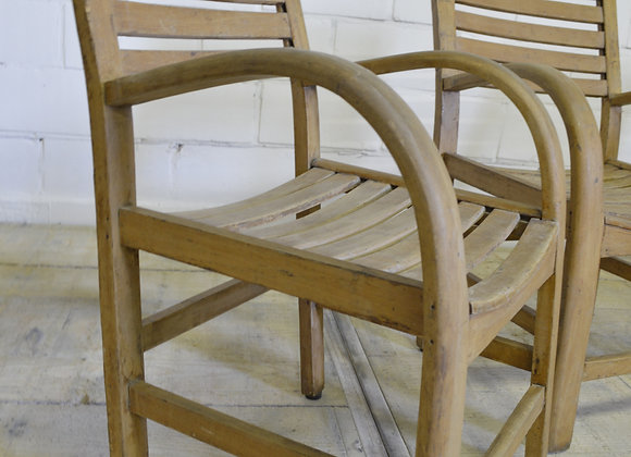 Wooden kids chairs by Torck