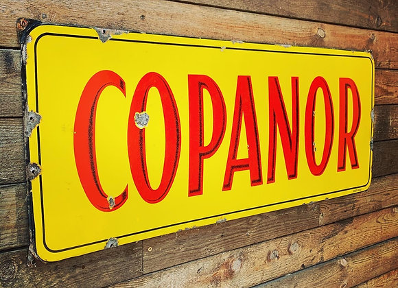 Emaillebord Copanor Mining
