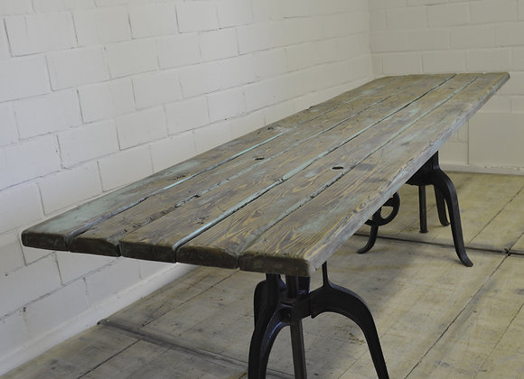 Industrial dinner table