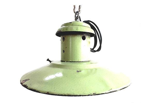 Industriële emaillelampen (Model D - Licht groen)